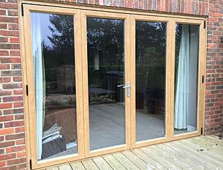 Bi-fold doors installed across Hants
