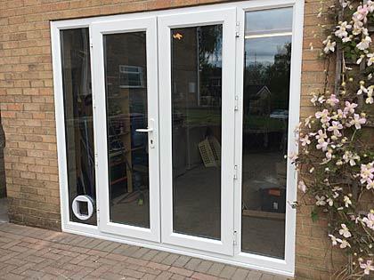 Example of a Stoner bi-fold door installation