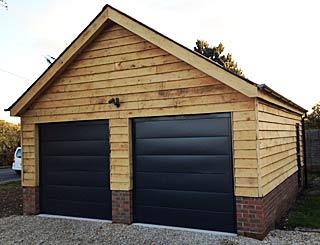 Oak garage